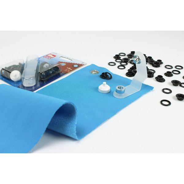 24 sen mit scheiben eyelets br niert 8mm. Black Bedroom Furniture Sets. Home Design Ideas