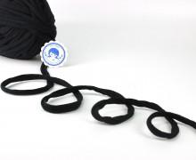 3m Mützenband - Jerseyband - Schwarz