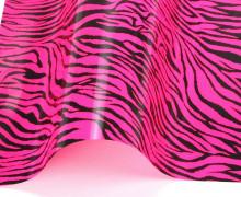 A4 Design Bügelflex - Bügelfolie - Zebra Pink