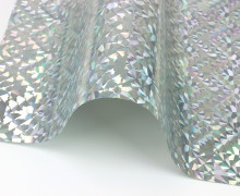 A4 Holographie Flex - Bügelfolie - Holo Diamond