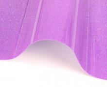 A4 ExtraBling-Bügelfolie-Glitzereffekt- Neonpurpur