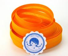 3 Meter Schrägband - 20mm breit - Mandarine