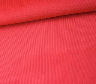 Babycord - Feincord - Uni - Rot
