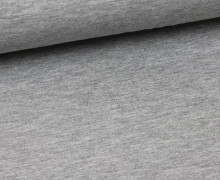 Viskose Jersey - Weich - Hellgrau Meliert (Mengeneinheit: 0,5m).