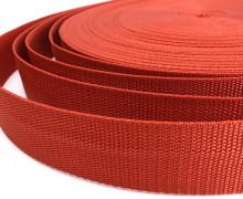 1 Meter Gurtband – Aschrot (287) – 40mm