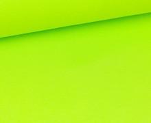 Glattes Bündchen - Schlauch - Gelbgrün