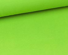 Glattes Bündchen - Schlauch - Hellgrün