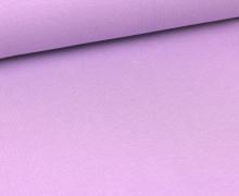 Glattes Bündchen - Schlauch - Lavendel