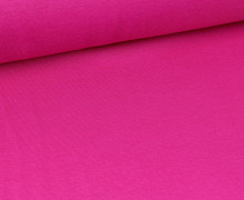 Glattes Bündchen - Schlauch - Pink (Mengeneinheit: 0,5m).