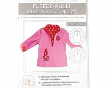 Schnittmuster - Fleece Pulli No.23 -lillesol&pelle