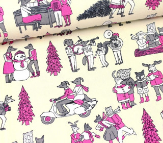 Canvas - Vintage Christmas - Andrea Lauren
