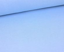 Glattes Bündchen - Schlauch - Hellblau