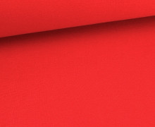 Glattes Bündchen - Schlauch - Rot