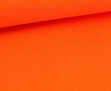 Glattes Bündchen - Schlauch - Orange