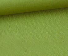 Canvas Stoff - feste Baumwolle - Uni - 145cm - Grasgrün