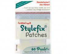60 Stylefix Patches - doppelseitig klebend - 30mm.
