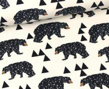 Sweat - Triangles Bear - GOTS- Creme-Andrea Lauren