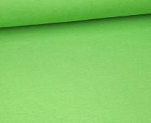 Viskose Jersey - Uni - Hellgrün - leicht geraut