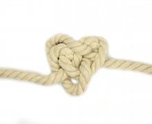1m Seil - Tau - Kordel - Beige