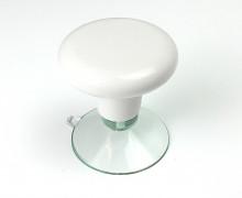 Haltegriff für Schneidelineal - Bastelhilfe - Weiß