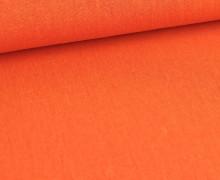 Viskose Leinen - Uni - Leinenstoff - Hellrotorange