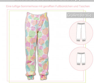 Schnittmuster - Sommerhose No.44 - lillesol&pelle