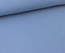 Glattes Bündchen - Schlauch - Taubenblau