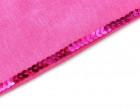 3 Meter Paillettenborte - Glatt - Pink