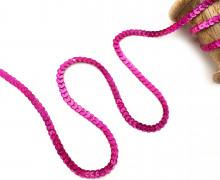 3 Meter Paillettenborte - Pink