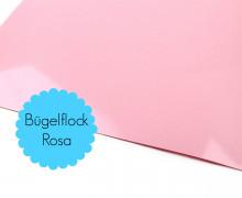 A4 Bügelflock - Bügelfolie - Rosa