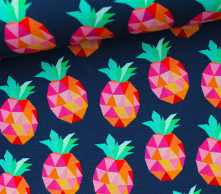 Jersey – Pineapplelada – Hamburger Liebe -Dkl.blau