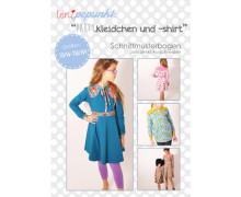 Schnittmuster - Partykleidchen - Shirt - 50/56-158/164 - lenipepunkt