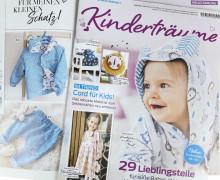 Dein Wunschgeschenk - Kinderträume  - Zeitschrift - Cord für Kids - inkl. Schnittmustern