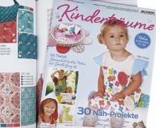 Dein Wunschgeschenk - Kinderträume  - Zeitschrift - Babynest - inkl. Schnittmustern