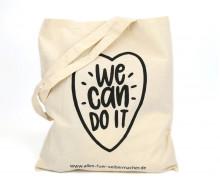 Dein Wunschgeschenk - 1 Büddel - We Can Do It - Schwarz