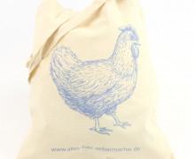 Dein Wunschgeschenk - 1 Büddel - Huhn - Hühnerliebe - blau