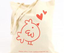 Dein Wunschgeschenk - 1 Büddel - Küken - Hühnerliebe - rot