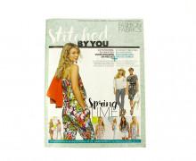 Dein Wunschgeschenk - Stiched by you  - Zeitschrift mit tollen Schnitten - Spring Time