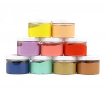 Siebdruckfarbe - SET - Koko & Dolores - 9x 100ml - wasserbasiert - für Textil