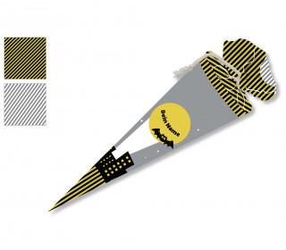 DIY-Nähset Schultüte -Schatten der Nacht - zum selber Nähen