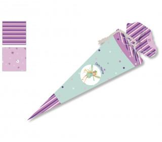 DIY-Nähset Schultüte - Fee - Wildblume - zum selber Nähen