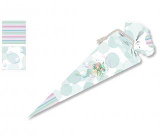 DIY-Nähset Schultüte - Wassernixe - Wildblume- zum selber Nähen