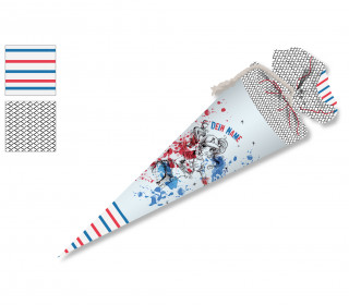 DIY-Nähset Schultüte - Baseball Girl -Wildblume -  zum selber Nähen