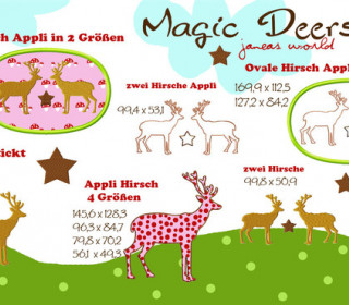 Stick Datei - MagicDeers Janeas World -16 Motive