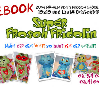 Stickdatei -  Frecher Frosch Fridolin