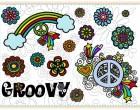 Stick Datei -  GROOVY - 13x18 er Rahmen