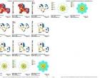 Stick Datei -   PonyBloom - grosser Rahmen
