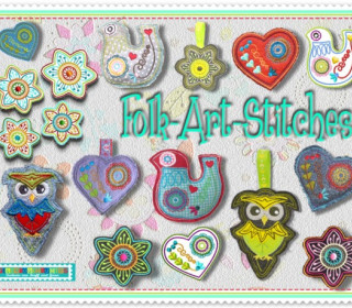 Stick Datei -  FolkArtStitches ITH