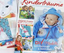 Dein Wunschgeschenk - Kinderträume  - Zeitschrift - 29 Nähprojekte - inkl. Schnittmustern